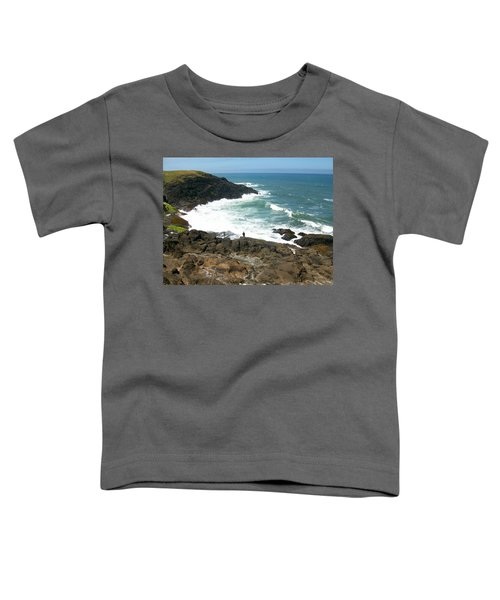 Rocky Ocean Coast Toddler T-Shirt