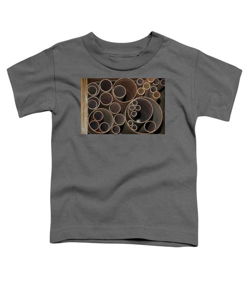 Round Sandpaper Toddler T-Shirt