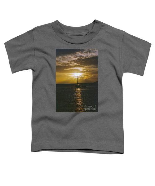 Sailing Sunset Toddler T-Shirt