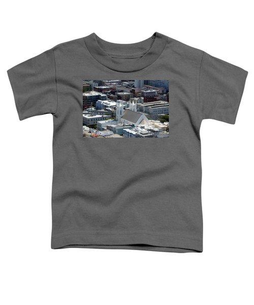 San Francisco St Francis Of Assisi Church Toddler T-Shirt
