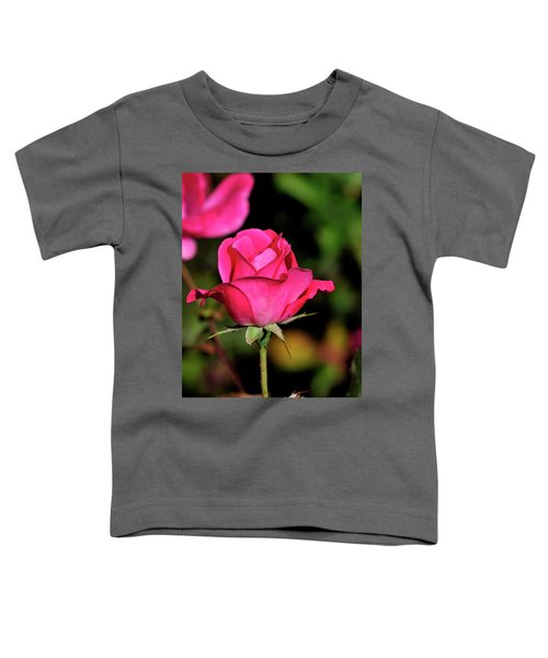 Simple Red Rose Toddler T-Shirt