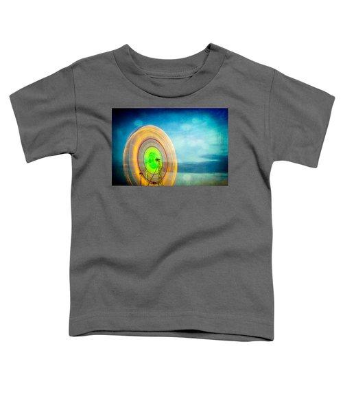 Spinning 2 Toddler T-Shirt