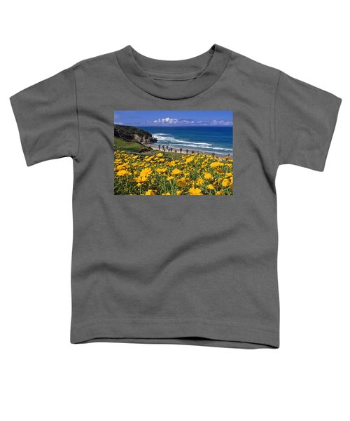 Springtime On The Headlands Toddler T-Shirt
