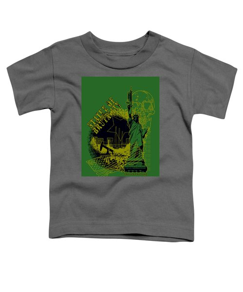Statue Of Brutality  Toddler T-Shirt