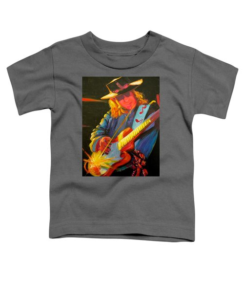 Stevie Ray Vaughn Toddler T-Shirt