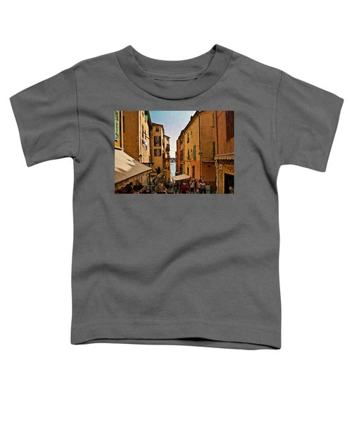 Street In Villefranche II Toddler T-Shirt