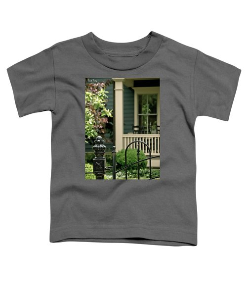 Sunday Afternoon In Doylestown Toddler T-Shirt