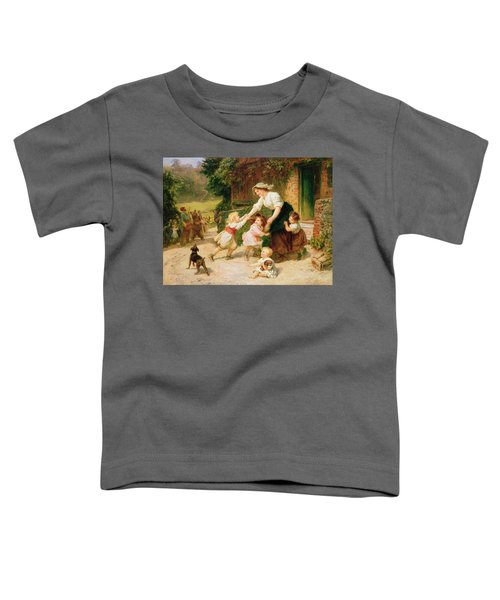 The Dancing Bear Toddler T-Shirt