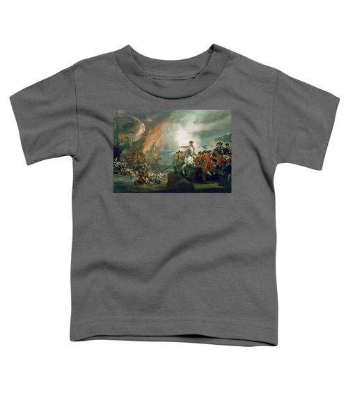 The Defeat Of The Floating Batteries At Gibraltar Toddler T-Shirt