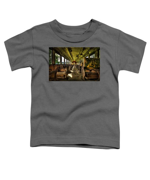 The Journey Ends Toddler T-Shirt