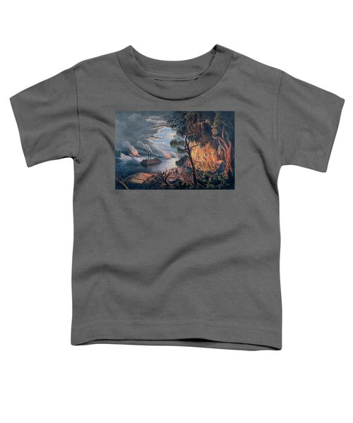 The Mississippi In Time Of War Toddler T-Shirt