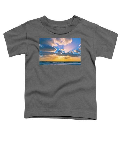 The Sea In The Sunset Toddler T-Shirt