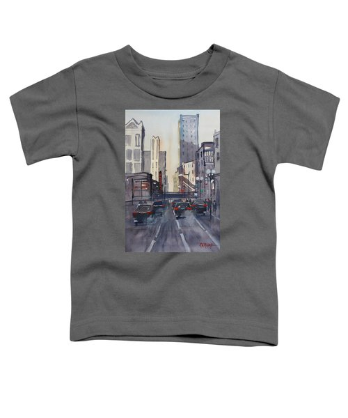 Theatre District - Chicago Toddler T-Shirt by Ryan Radke