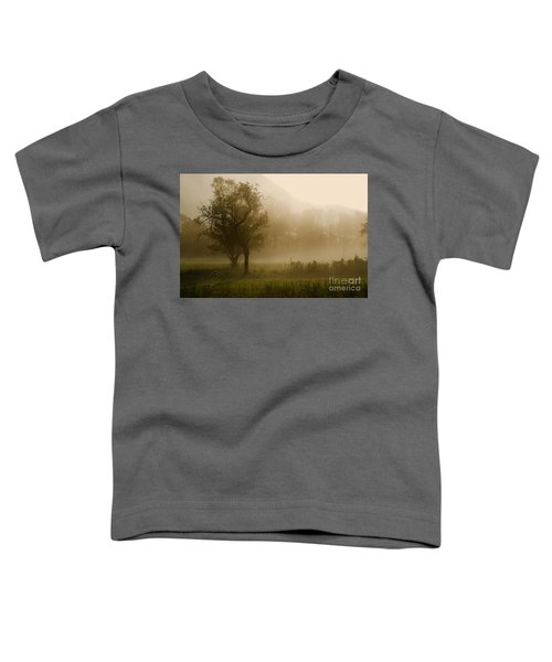Trees And Fog Toddler T-Shirt