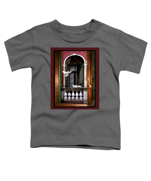 Venice Window Toddler T-Shirt