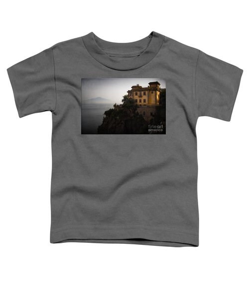 Vesuvius From Sorrento Toddler T-Shirt