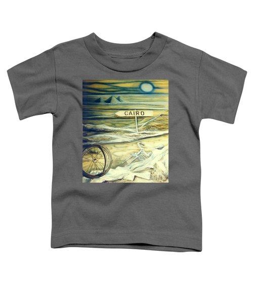 Way To Cairo Toddler T-Shirt