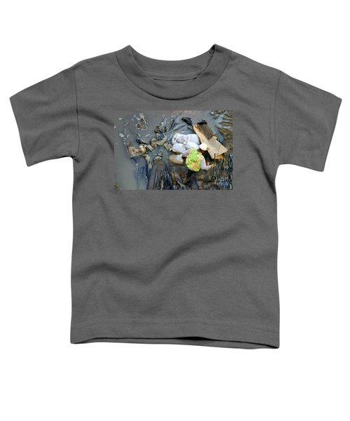 Working The Mud Toddler T-Shirt
