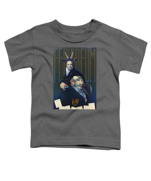 Yak Andrew Bienstjalk Toddler T-Shirt