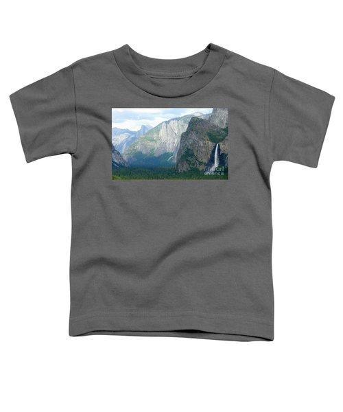 Yosemite Bridalveil Fall Toddler T-Shirt