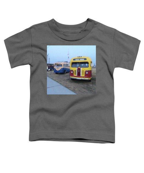 Retro Bus Toddler T-Shirt