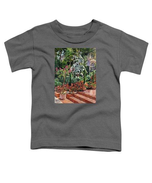 A Garden Approach Toddler T-Shirt by David Lloyd Glover