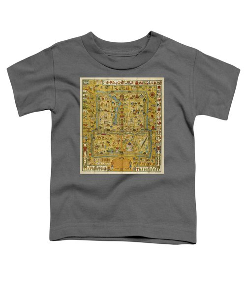 A Map And History Of Peiping Toddler T-Shirt
