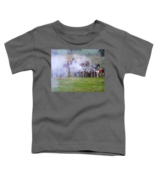 Gettysburg Confederate Infantry 7503c Toddler T-Shirt