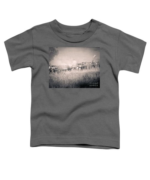 Gettysburg Confederate Infantry 9112s Toddler T-Shirt