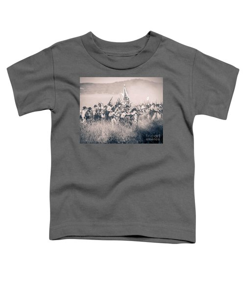 Gettysburg Confederate Infantry 9214s Toddler T-Shirt