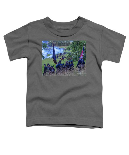 Gettysburg Union Artillery And Infantry 7459c Toddler T-Shirt