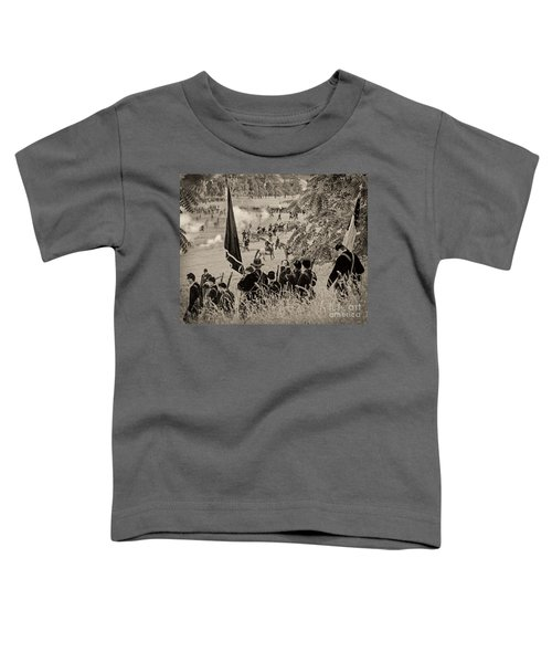 Gettysburg Union Artillery And Infantry 7459s Toddler T-Shirt