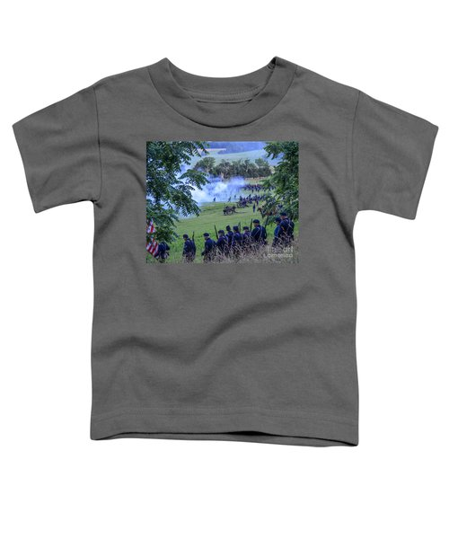 Gettysburg Union Artillery And Infantry 7465c Toddler T-Shirt