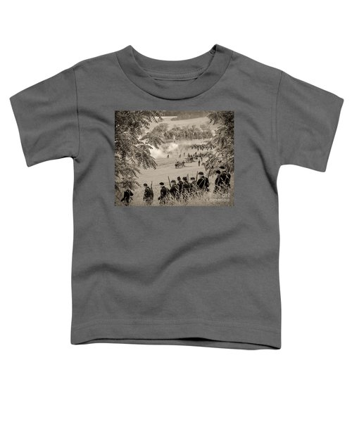 Gettysburg Union Artillery And Infantry 7465s Toddler T-Shirt