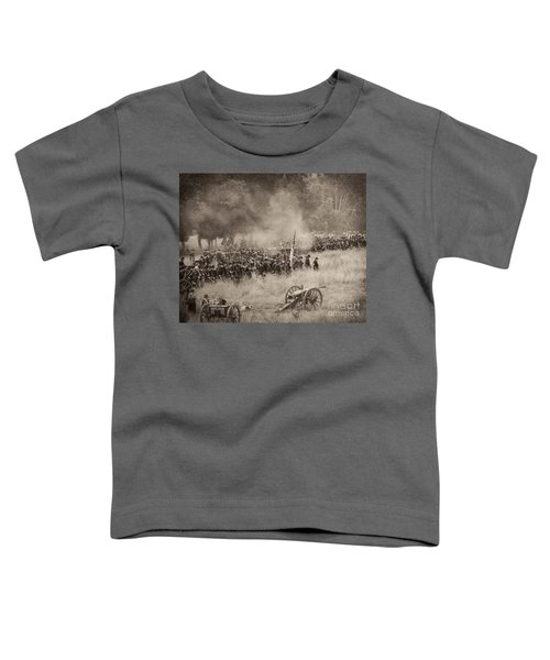 Gettysburg Union Artillery And Infantry 8456s Toddler T-Shirt