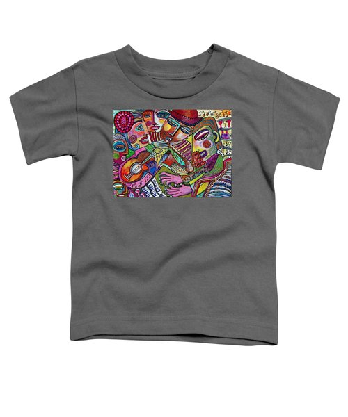 -the Music Of Friendship  Toddler T-Shirt