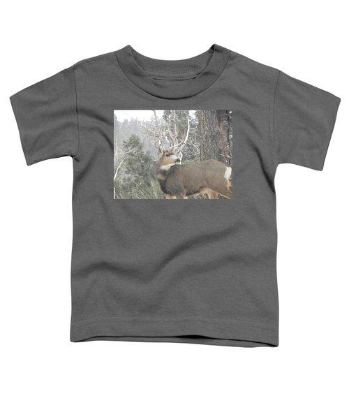 Buck Front Yard Divide Co Toddler T-Shirt