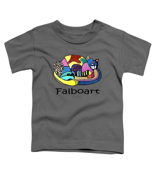 A Cat Named Picasso Toddler T-Shirt