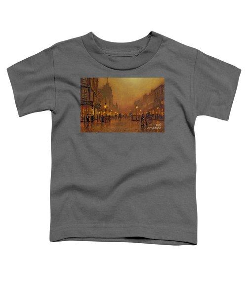 A Street At Night Toddler T-Shirt