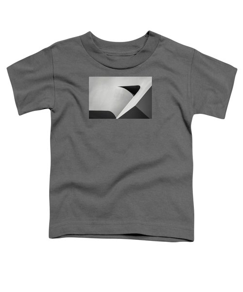 Abstract In Black And White Toddler T-Shirt