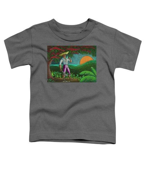 Amanecer En Borinquen Toddler T-Shirt