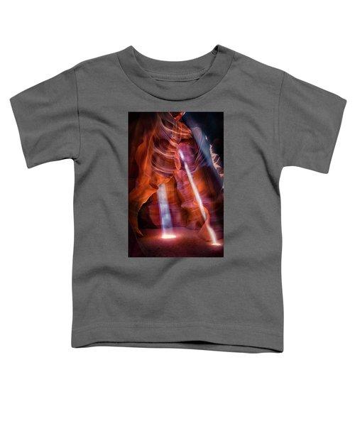 Antelope Canyon's Many Beams Toddler T-Shirt