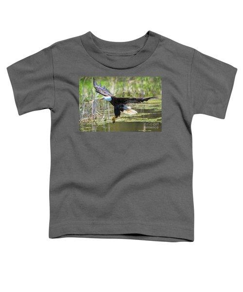 Bald Eagle-3175 Toddler T-Shirt