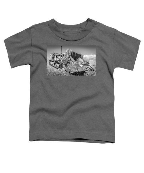Beach Bulldozer. Toddler T-Shirt