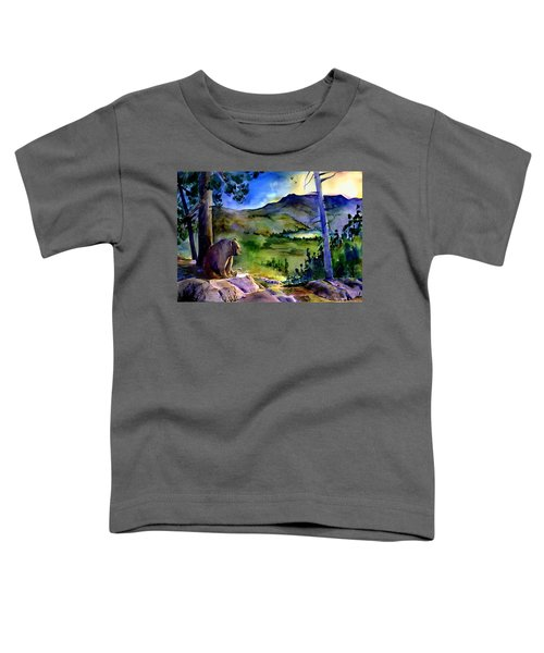 Bearly Light At Castle Peak Toddler T-Shirt