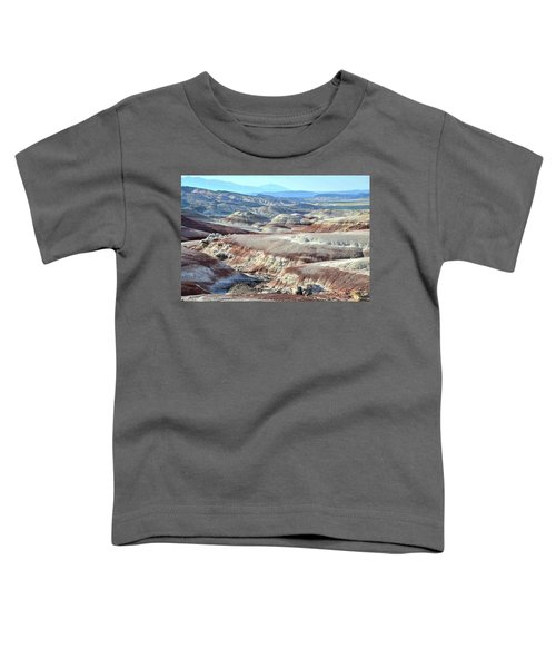 Bentonite Clay Dunes In Cathedral Valley Toddler T-Shirt