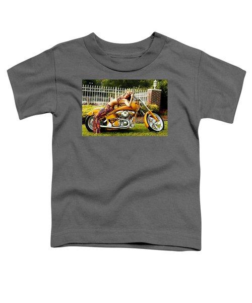 Bikes And Babes Toddler T-Shirt