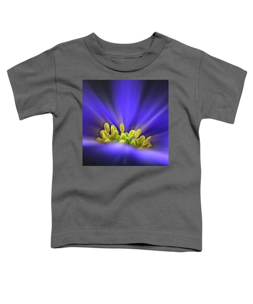 blue Shades - An Anemone Blanda Toddler T-Shirt