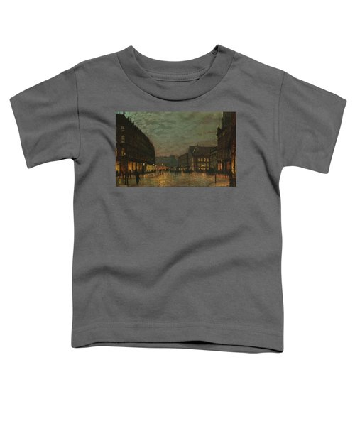Boar Lane Leeds By Lamplight Toddler T-Shirt