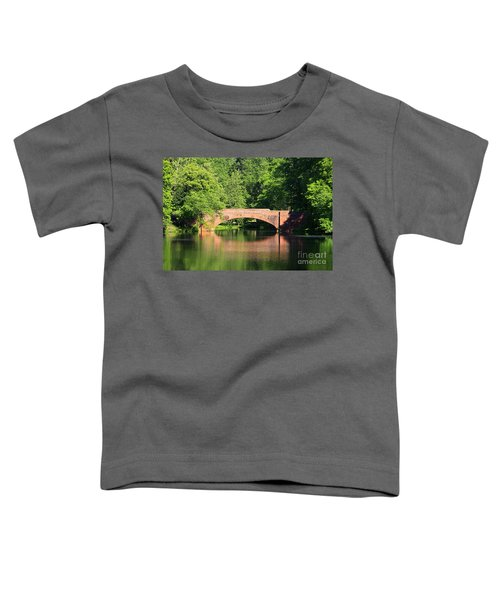 Bridge Reflection In The Spring Toddler T-Shirt